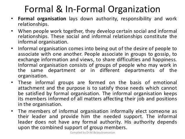 organising function of management pdf