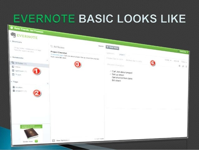 Organizing daily task made easy using evernote
