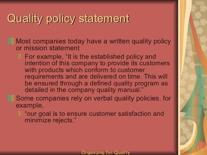 Organizing For Quality 13 728gcb1326150441