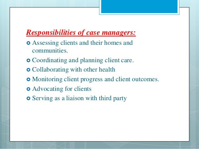 Organizing nursing services