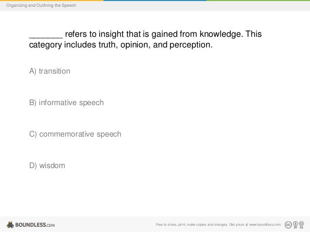 Organizing Outlining Speech – Commemorative Speech Examples