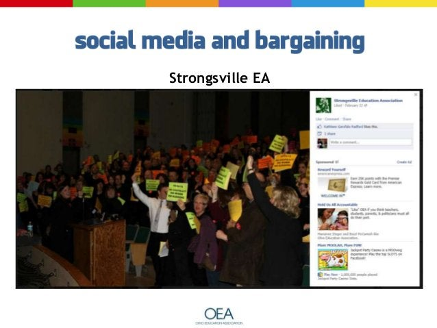   Pictures are worth…    Establish Solidarity with other OEA Members    Show a concrete action
