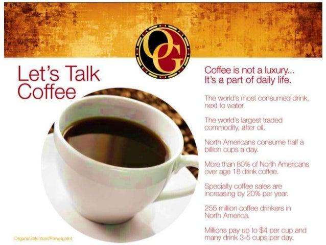 Organiclight/organogold Healthy coffee