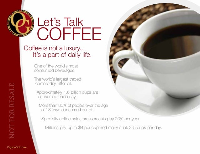 Organo gold coffee for sale