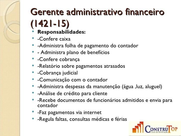 Exemplo de relatório administrativo