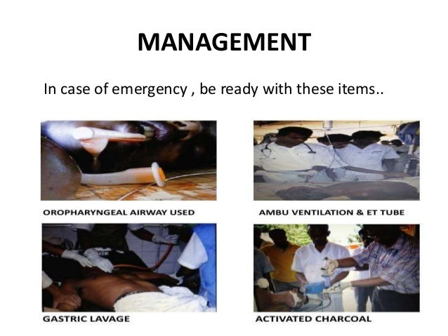 MANAGEMENT In case of emergency , be ready with these items..
