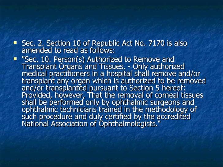 Organ Transplantation Slide 6