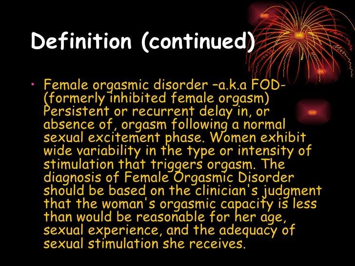 Male Orgasm Disorder 62