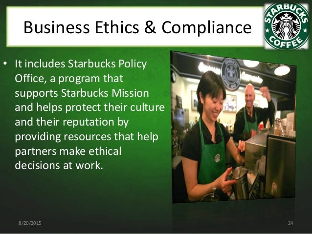starbucks business ethics Unethical behaviour of starbucks  a lack of ethics leads to a wealth of problems for a business   .