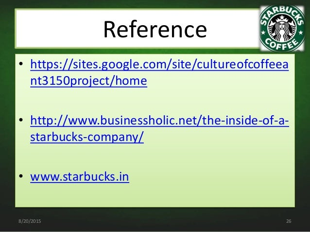 is starbucks a learning organization Starbucks coffee company's organizational culture is one of the most distinct characteristics of the firm a company's organizational culture widely influences employees and business performance in starbucks coffee's case, the company's organizational culture permeates all aspects of its business.