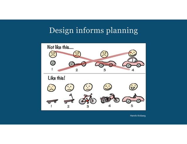 Design informs planning Henrik Kniberg