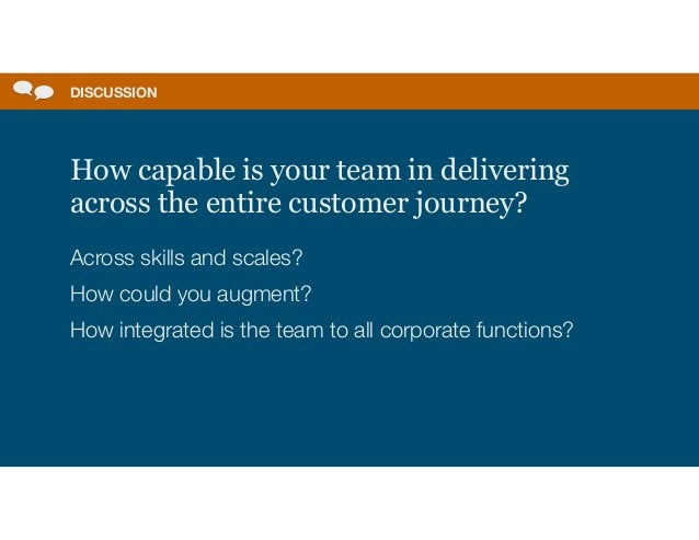 A design team needs to be in charge of its own destiny, and this requires:   Focused leadership with autonomy and executiv...