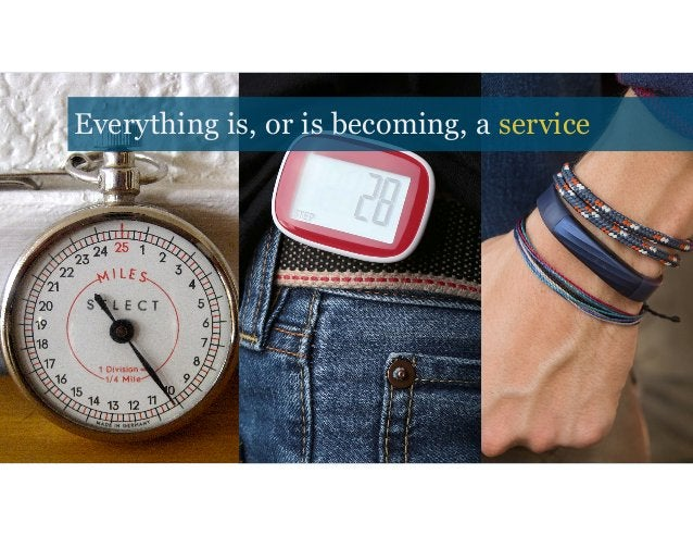 Everything is, or is becoming, a service (Debating on either showing Everything is, or is becoming, a service
