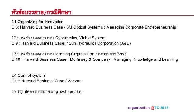 3m Optical Systems Managing Corporate Entrepreneurship Pdf