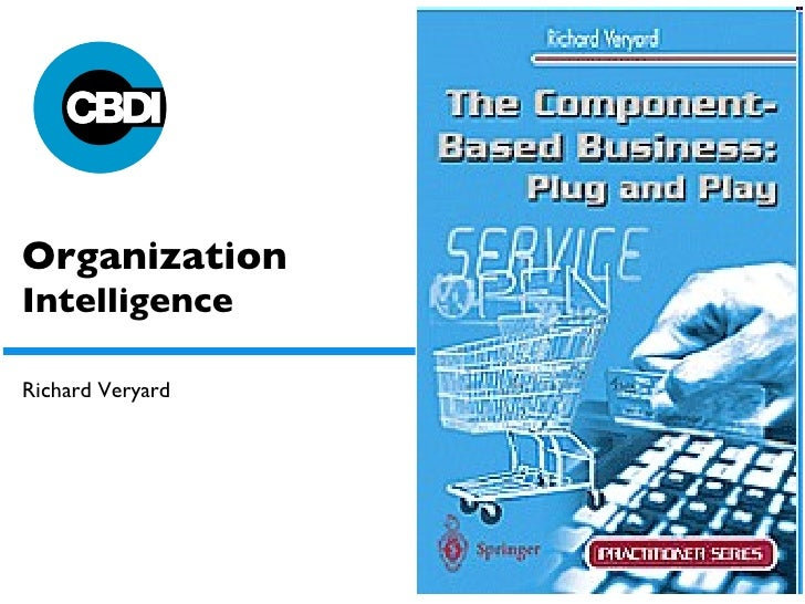 Organization  Intelligence Richard Veryard