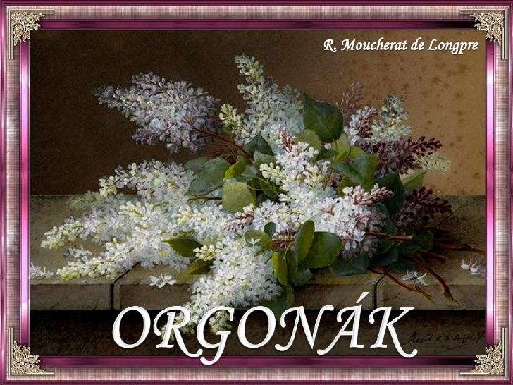 R. Moucherat de Longpre<br />ORGONÁK<br />