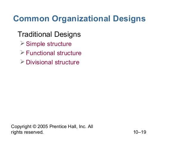 simple organizational structure