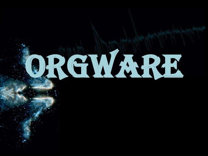 ORGWARE<br />