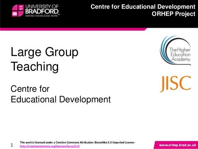 Centre for Educational Development                                                            Centre for Educational Devel...