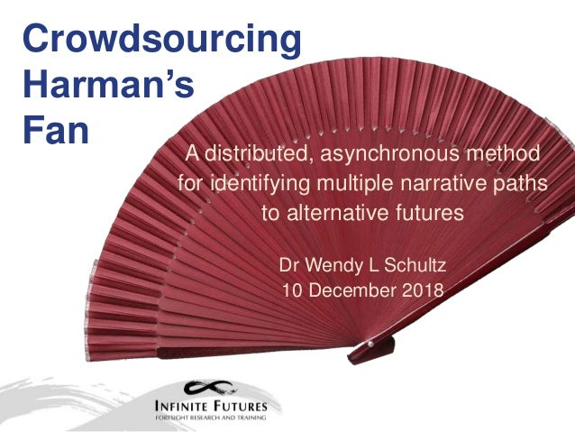 Crowdsourcing Harman's Fan A distributed, asynchronous method for identifying multiple narrative paths to alternative futu...