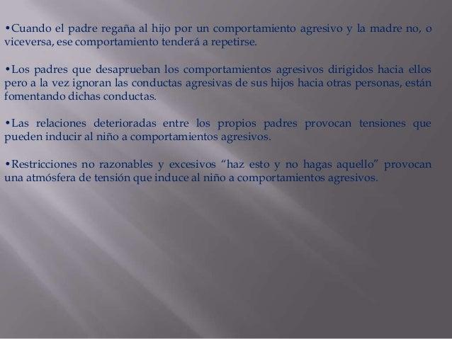 ESTABLECERUN CLIMAFAVORABLECONOCER LOSINTERESES YNECESIDADESDEL MENORMOSTRARADMIRACIÓNPOR SUSDESTREZASNOCOMPARARESTABLECER...