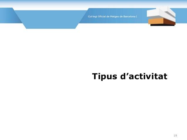 Tipus d'activitat 19