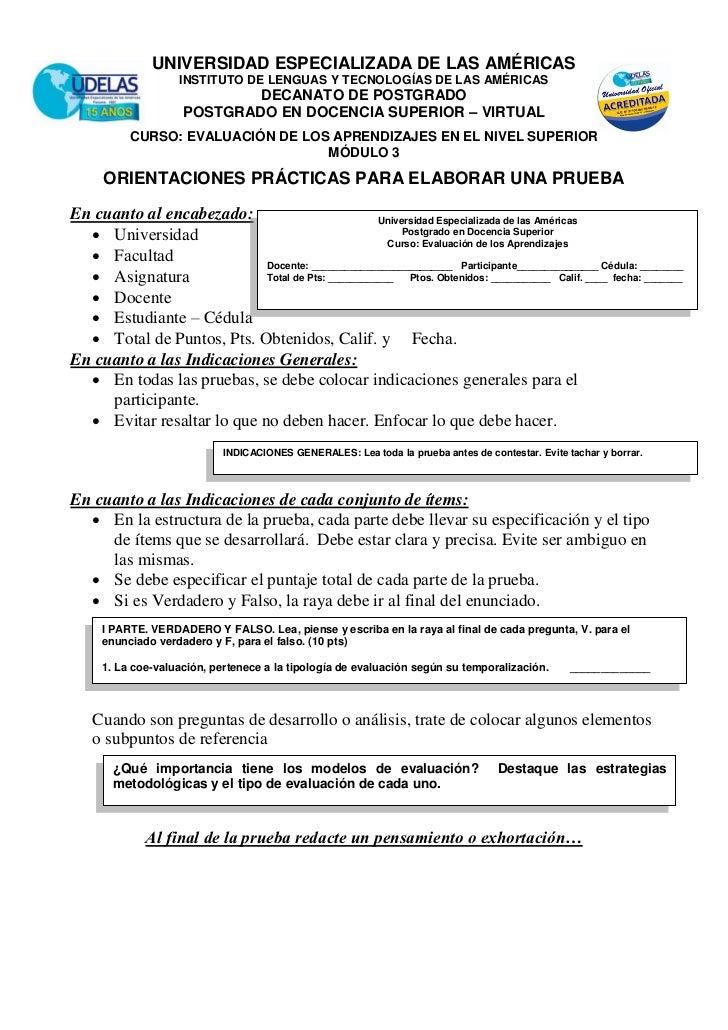 UNIVERSIDAD ESPECIALIZADA DE LAS AMÉRICAS                   INSTITUTO DE LENGUAS Y TECNOLOGÍAS DE LAS AMÉRICAS            ...
