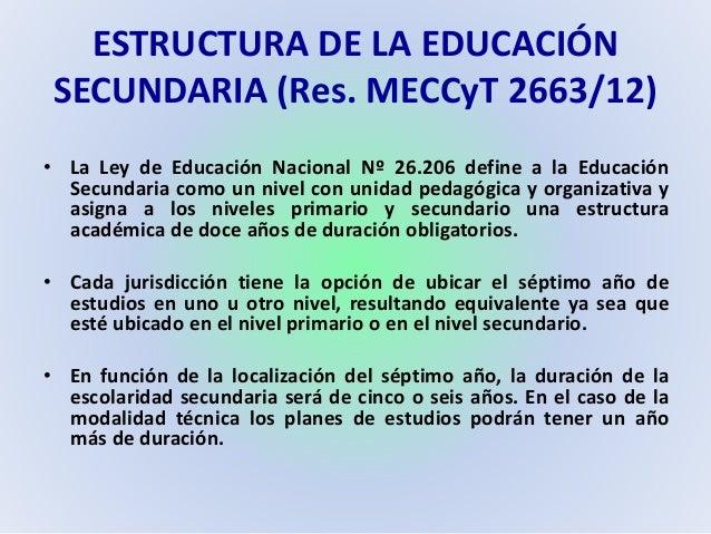 Educación Secundaria Chaco Orientaciones Y Marcos De