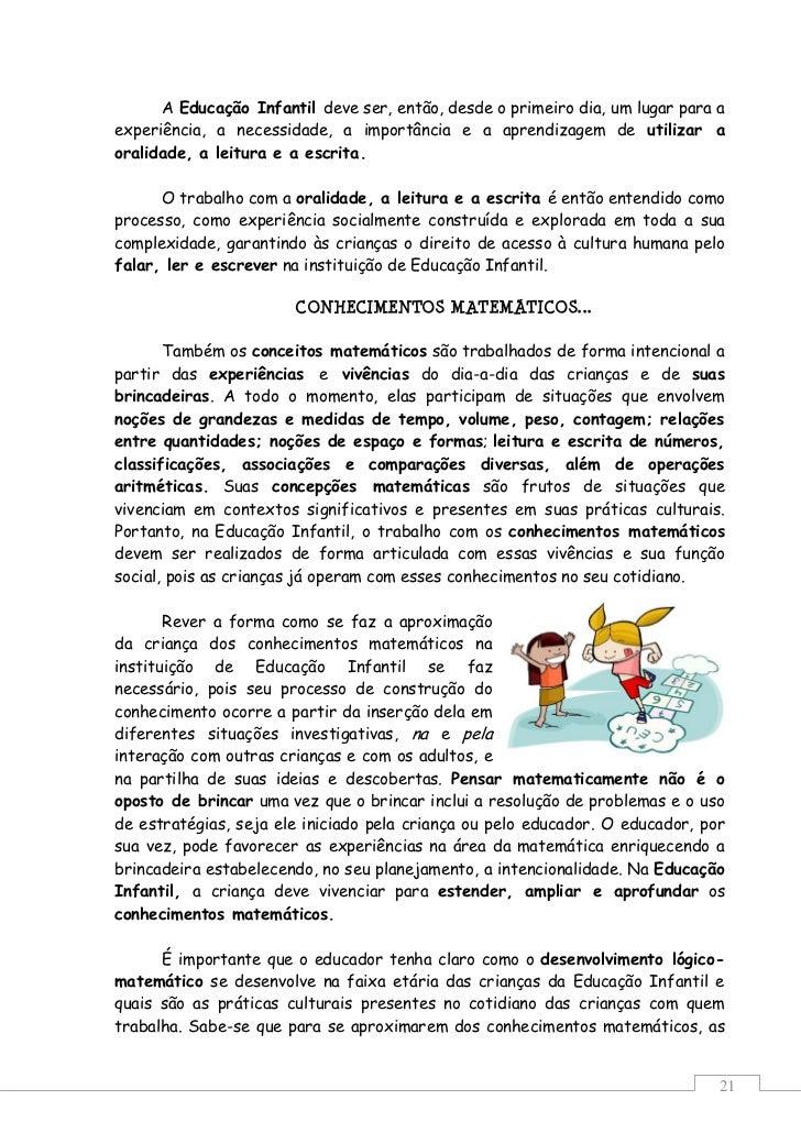 Well-known Orientações Curriculares para a Educação Infantil final RJ36