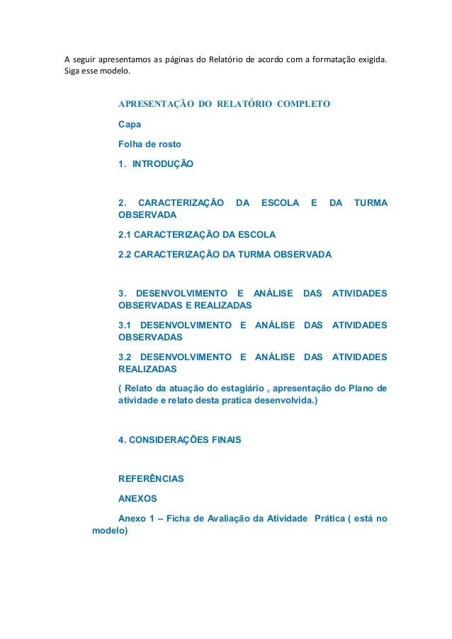 Relatório de estágio ll licenciatura em educação do campo 8