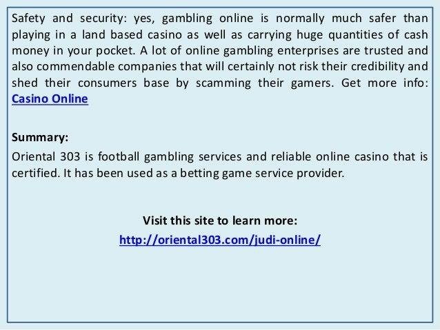Oriental 303 Online Gambling