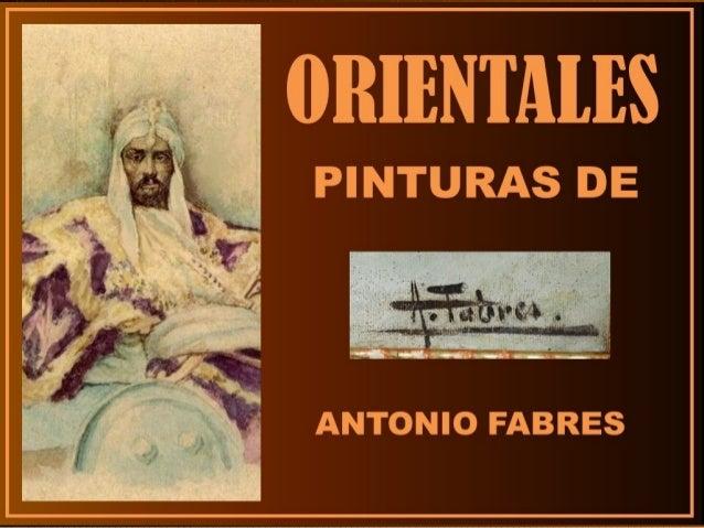 ANTONIO FABRES Y COSTA Barcelona 1854 – Roma 1936 Pensionado en Roma. Se unió al grupo de Fortuny. Excelente acuarelista. ...