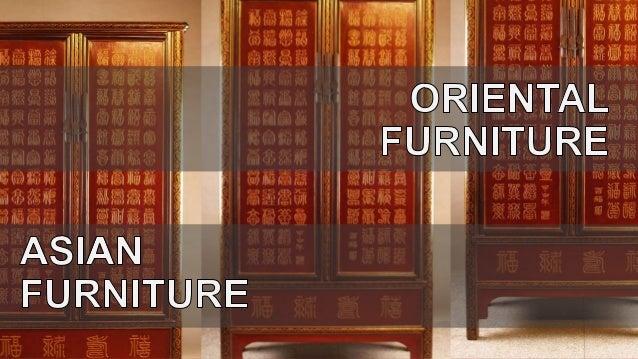Oriental furniture styles REPORT – Oriental Bookcases