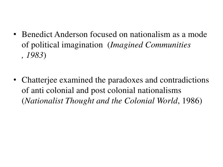 benedict anderson Benedict anderson 1936 - 2015 ben you are an inspiration to us all we may not be able to live your exemplary life of the mind, but we shall do our best to make you proud.