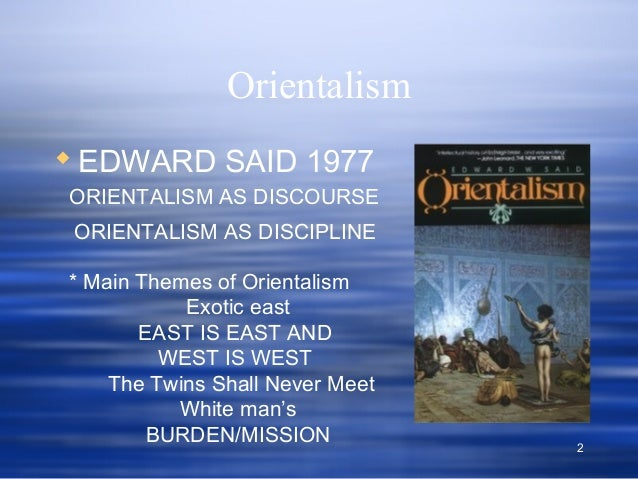 an introduction to edward said This article reviews edward said's controversial work, 'orientalism,' and its impact throughout the academic world complete the lesson, then test.