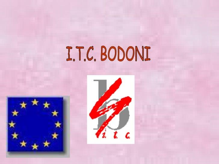 I.T.C. BODONI