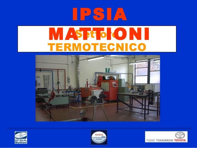 Settore TERMOTECNICO IPSIA MATTIONI