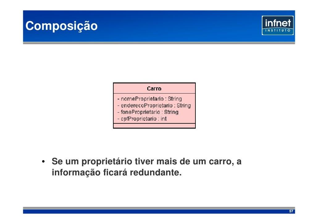 Composição       • Se um proprietário tiver mais de um carro, a     informação ficará redundante.                         ...