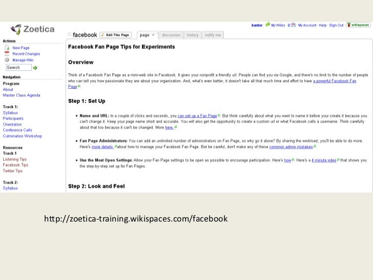 http://zoetica-training.wikispaces.com/facebook<br />