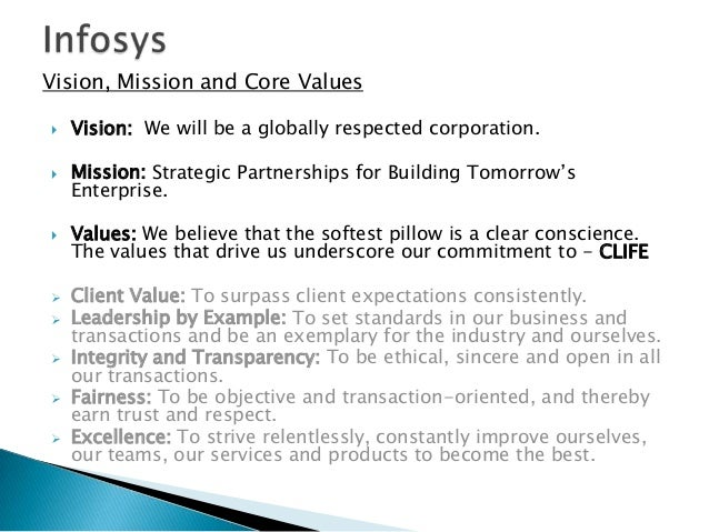 vision infosys