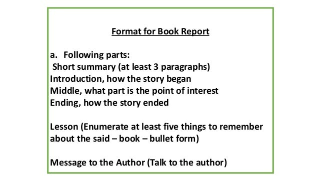 How too write a book report Ascend Surgical
