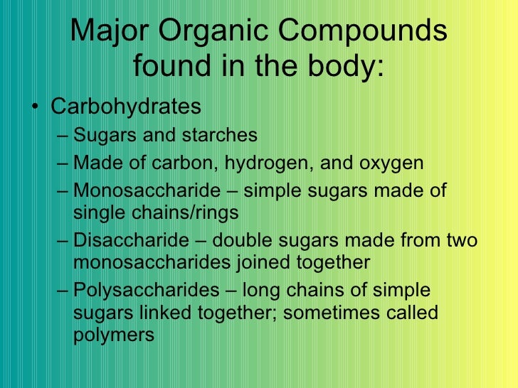 two compounds of the human body Human body odours also have this function we emit a wide array of volatile  organic compounds (vocs), both odorous and non-odorous, from.