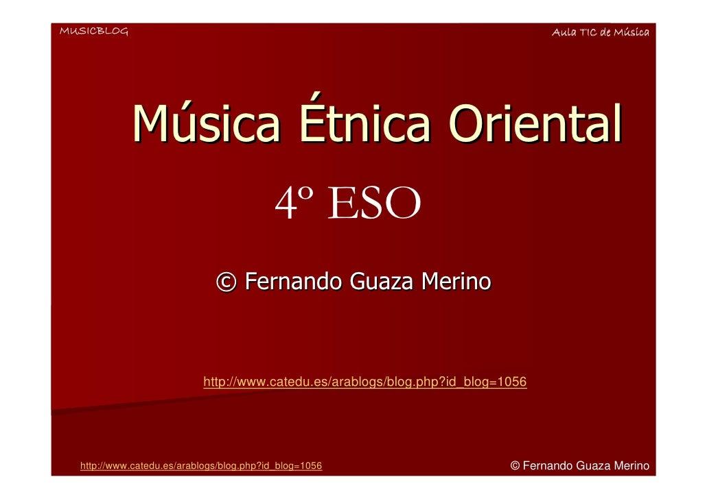 MUSICBLOG                                                                        Aula TIC de Música                 Música...