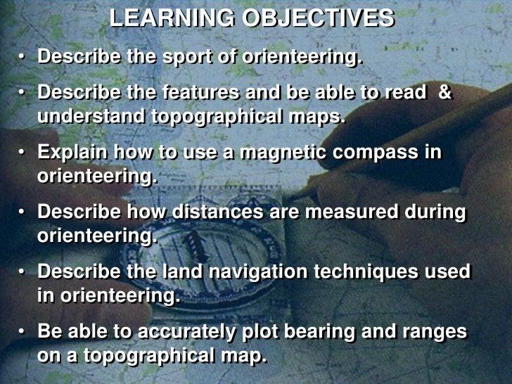 Orienteering  Slide 2