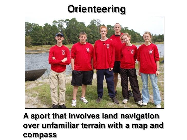 Orienteering  Slide 3