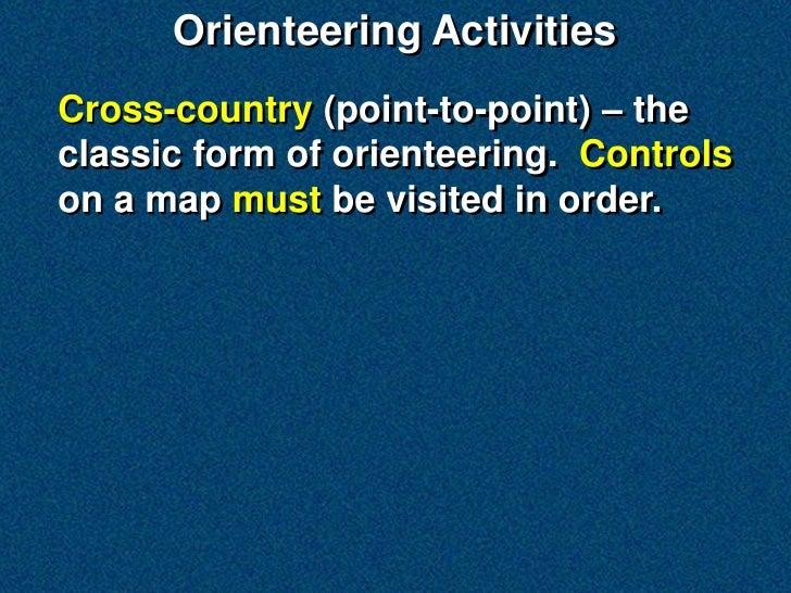 Orienteering Web