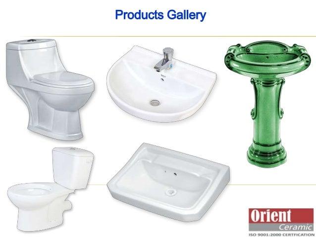 Ceramic Sanitaryware - Wash Basins, Water Closets, Lab Sinks