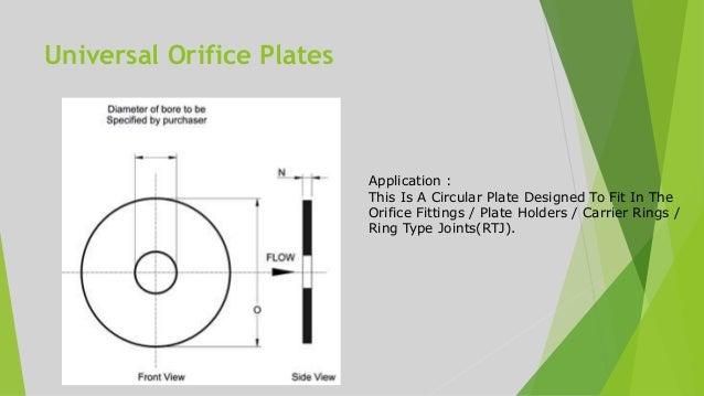 13. Universal Orifice ...  sc 1 st  SlideShare & Orifice plate