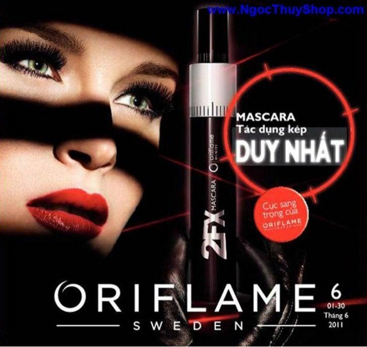 Oriflame - Catalogue Oriflame thang 6-2011