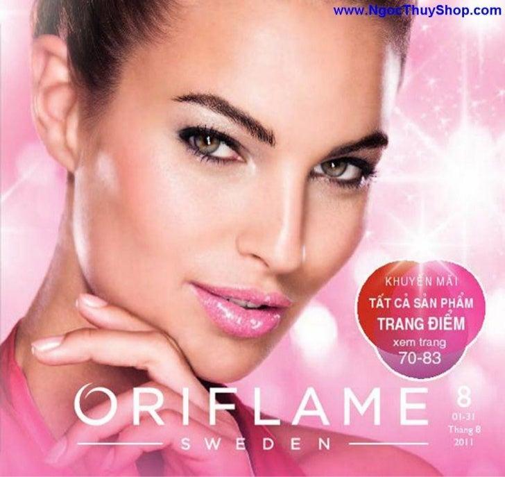 Oriflame - Catalogue Oriflame Thang 8-2011